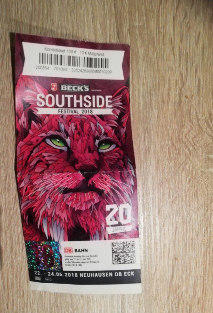 Festival Southside Ticket 2018