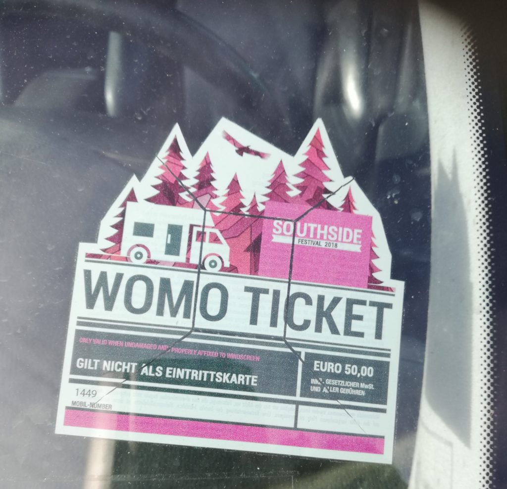 Southside Womo Ticket